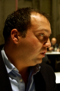 Alessandro Cellai, winemaker at Castellare di Castellina, Chianti Classico (Photo©Tom Hyland)