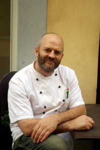 Chef Marco Forneris, Trattoria La Libera, Alba (Photo ©Tom Hyland)