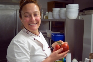 Chef Maria Cristina Rinaudi, Ristorante Le Torri (Photo ©Tom Hyland)