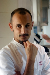 Chef Enrico Crippa, Piazza Duomo, Alba (Photo ©Tom Hyland)