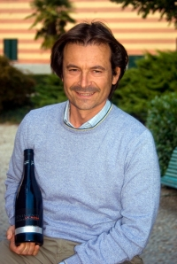 Danilo Drocco makes an excellent Roero Arneis at Fontanafredda (Photo ©Tom Hyland)