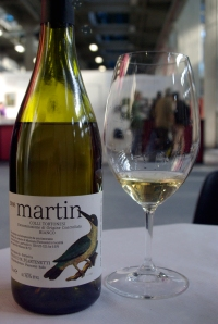 """Martin"" bottling of Timorasso of Franco Martinetti (Photo ©Tom Hyland)"