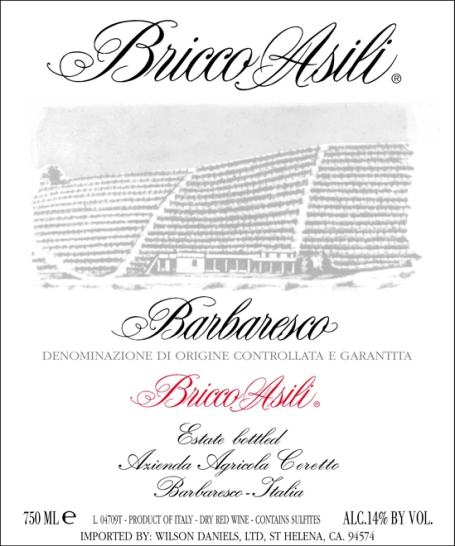 Ceretto-Bricco-Asili-Barbaresco-Label